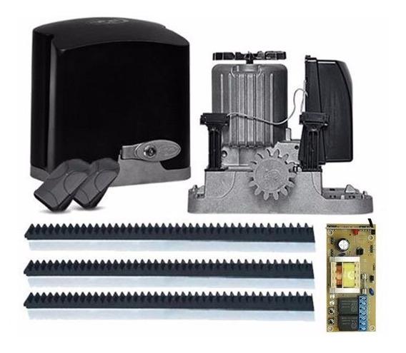 Kit Motor Portão Ppa Eletrônico Deslizante 110v 220v Dz Rio