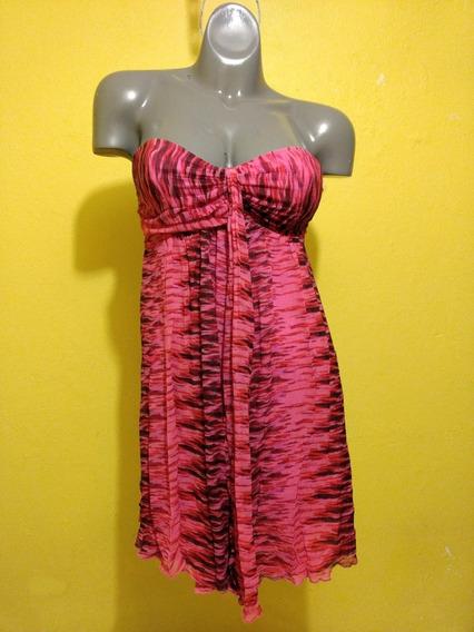 Vestido Express Color Rosa Talla Chica 4/26