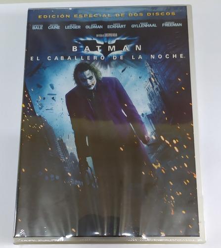 Dvd Batman Caballero Oscuro 2 Discos Marvel Dc Nolan