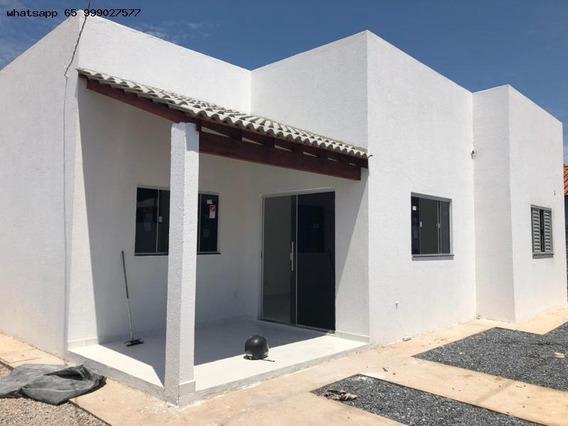 Casa Para Venda Em Várzea Grande, Centro-sul, 2 Dormitórios, 1 Banheiro - 331_1-1323740