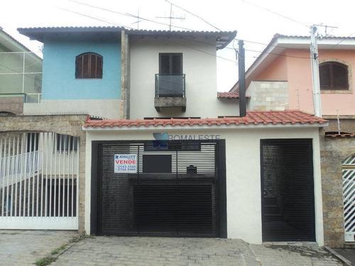 Sobrado Com 3 Dormitórios À Venda, 196 M² Por R$ 650.000,00 - Vila Ema - São Paulo/sp - So0085
