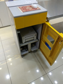 Impressora Kodak 305 E Gabinete De Madeira (opcional)