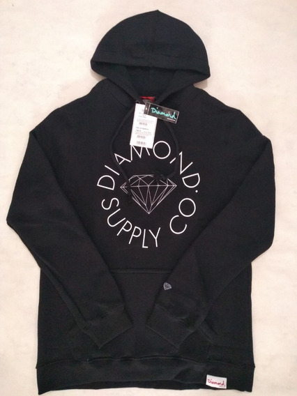 Moletom Masculino Diamond Supply Co Circle Logo Original
