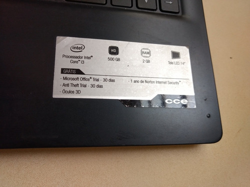 Notebook Cce Ultra Thin N325..