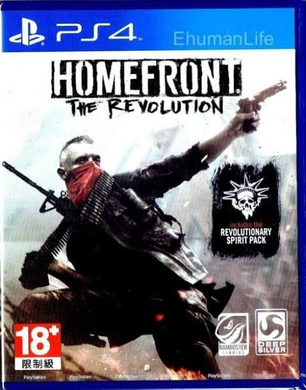 Homefront The Revolution Ps4 Novo Lacrado