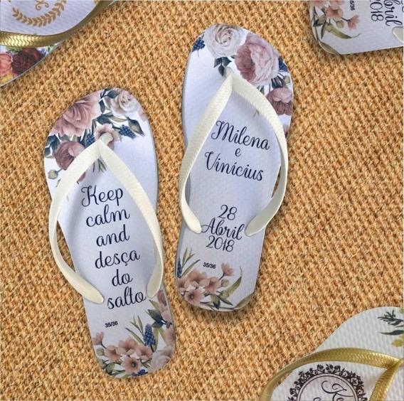 130 Sandalias Personalizadas Para Casamento