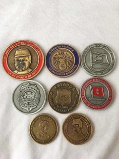 Medalla Monedas Militar Ejército Pdi Carabineros