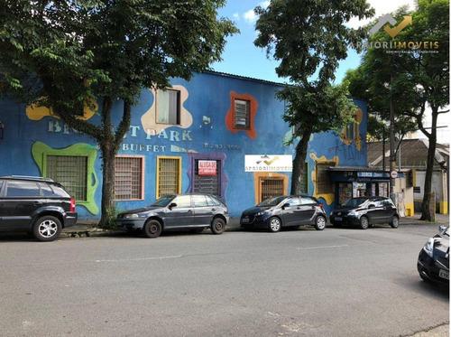 Salão Para Alugar, 1300 M² Por R$ 15.000/mês - Jardim - Santo André/sp - Sl0038