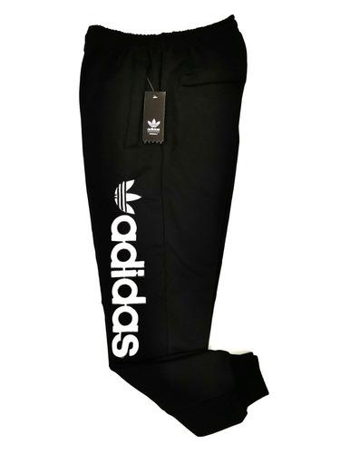 módulo simplemente estudiar  Pants adidas Algodon Negro Con Letras Bordadas Talla Xl   Mercado Libre