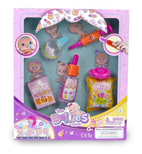 The Bellies Bebe Belly-kit Kit De Cuidados Titanweb