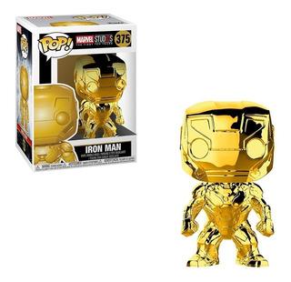Funko Pop Marvel Studios 10th Iron Man Gold 2017