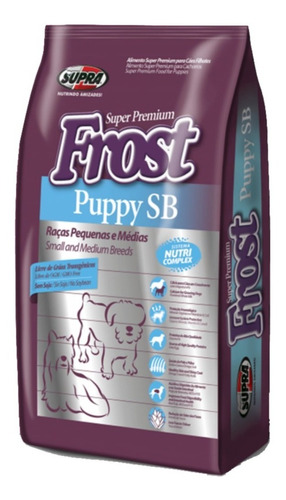 Frost Cachorro Razas Pequeñas 10,1kg + Salsas