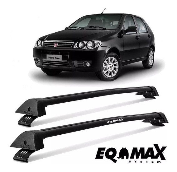 Rack Eqmax New Wave Palio 2p 1996 Até 2008 Fire Preto
