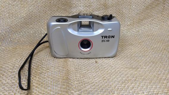Câmera Fotográfica Tron Bv 80 Filme 35mm Foto Fotografia