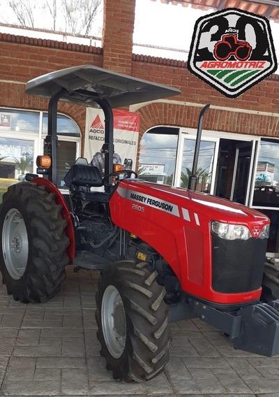 Tractor Agrícola Mf.2605 4x4 De 43hp Al Motor Nuevo