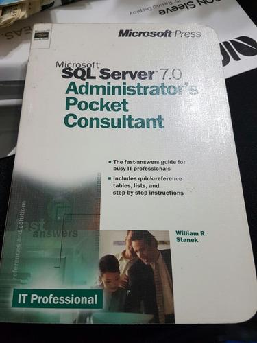 Libro Sql Server 7.0 Administrator Pocket