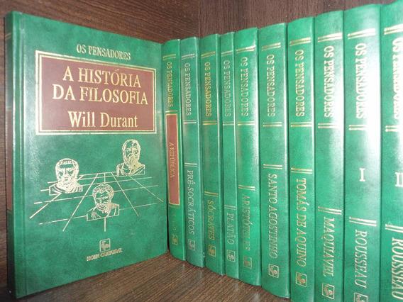 Coleção Completa Os Pensadores - 35 Volumes