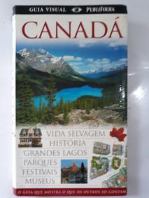 Livro Guia Visual Folha De São Paulo Canadá
