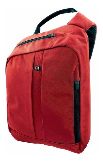 Mochila Victorinox Gear Sling Protección Rfid (31173701) Red