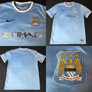 Camisa Manchester City 2013-2014 Tam M (72x52) Bom Estado