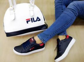 Zapatos Deportivos De Damas + Bolso Hermoso + Envío Gratis