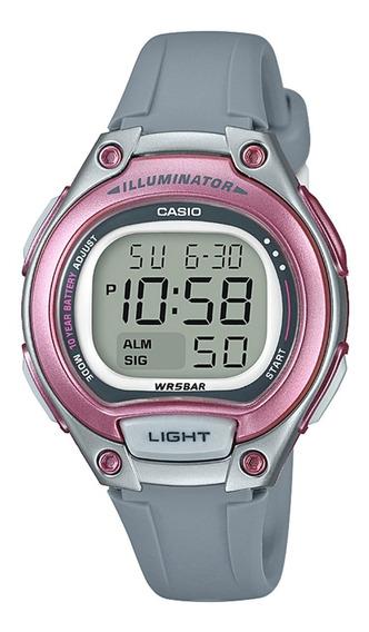 Relógio Casio Lw203 Rosa 100% Original Prova Dágua 50 Metros