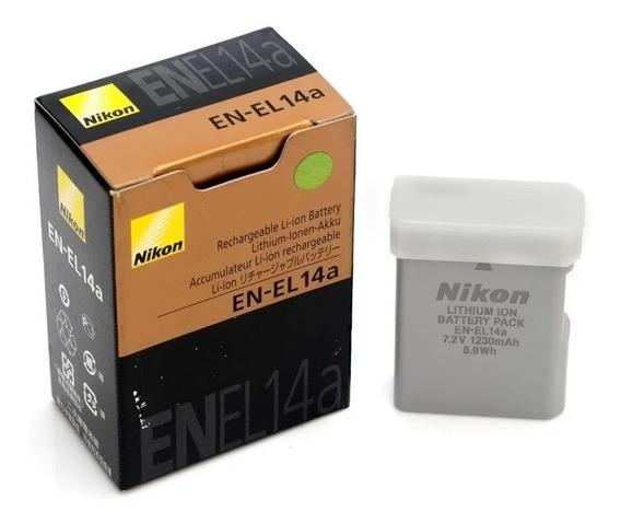 Bateria Nikon En-el14a - Original- Nikon D3200 D3300 D5100