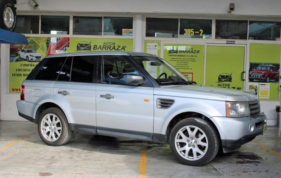 Land Rover Range Rover Sport Hse 2008 Plata
