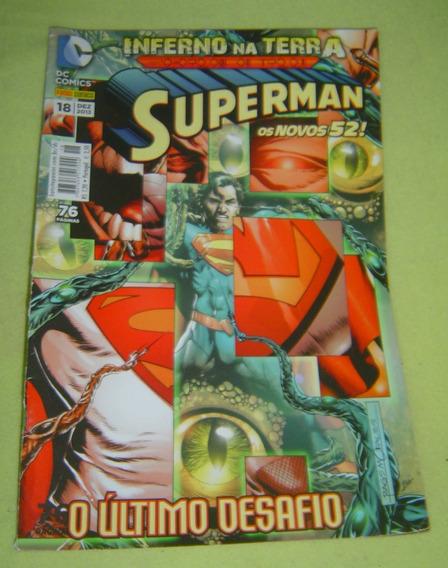 Dc Superman Nº18 - O Último Desafio - Frete Grátis