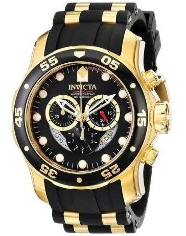 Relogio Invicta Original Pro Diver Ouro
