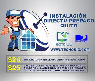 Quito Instalación Antena Directv Instaladores Accesorios