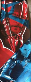 Tfgo - Poster Thor - Thor Ragnarok - Exclusivo Omelete Box