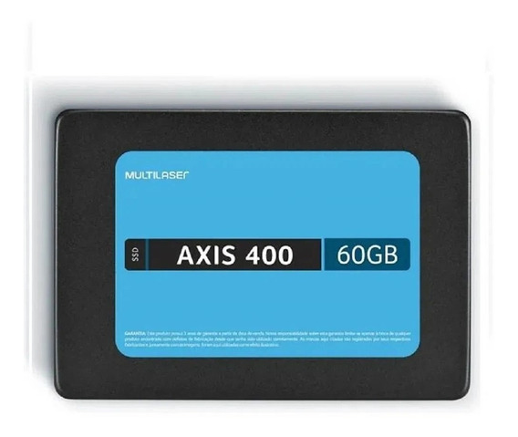 Ssd 60gb Multilaser Axis 400 Ss060 Preto