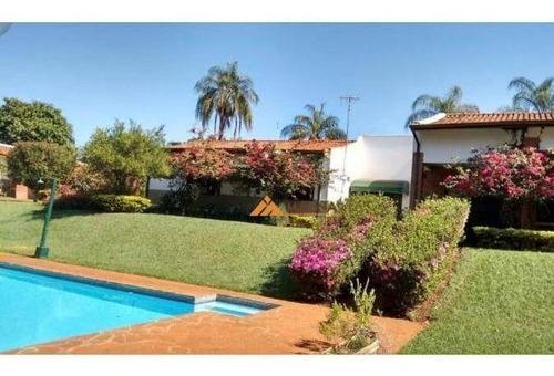 Chácara Com 4 Dormitórios À Venda, 5800 M² Por R$ 1.820.000,00 - Condomínio Quinta Da Boa Vista - Ribeirão Preto/sp - Ch0101