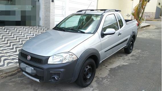 Fiat Strada Ce 2014 Revisada Pneus 1/2 Vida Procedencia Ok!
