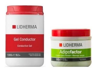 Kit Reductor Para Aparatologia Galvanica Electrodos Lidherma