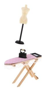 Modelismo Maniquí De Madera + Tabla De Planchar Muebles En