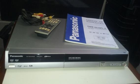 Gravador De Mesa Panasonic Dmr-es10 Pal-m Ntsc Gravador Dvd