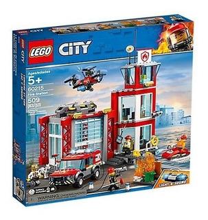 Todobloques Lego 60215 City Estacion De Bomberos