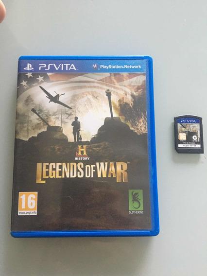 History Legwnds Of War Ps Vita