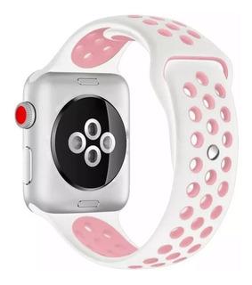 Correa Malla Apple Watch 1 2 3 4 Silicona Deportiva 42 44 Mm