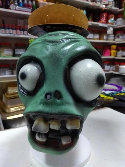 Mascara Plantas Vs Zombies Disfraz Cotillon Halloween Latex