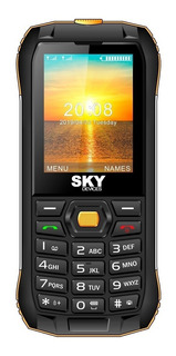 Sky Devices Tank2 Dual SIM 32 MB Amarillo 32 MB RAM