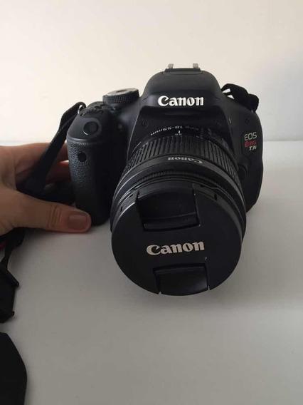Canon Eos Rebel T3i - Acompanha Lente Do Kit 18-55