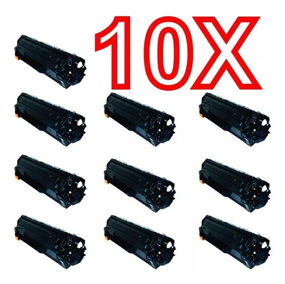 Kit C/ 10 Toner Ce285a P1102w M1132 85a M1132 M1212 M1130