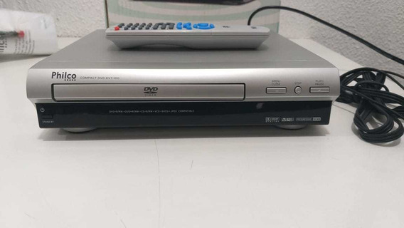 Dvd Player Philco Dvt-100 Novo