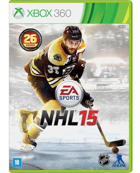 Jogo Nhl 15 Xbox 360 - Ea Sports - Original Lacrado