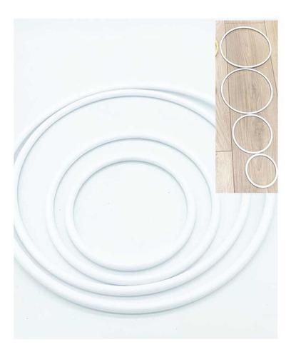 Aros Para Atrapasueños Plasticos X4uds La Fabriquita