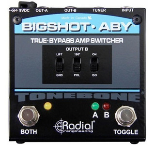 Pedal Radial Bigshot Aby Amp Switcher Tonebone Rd Music