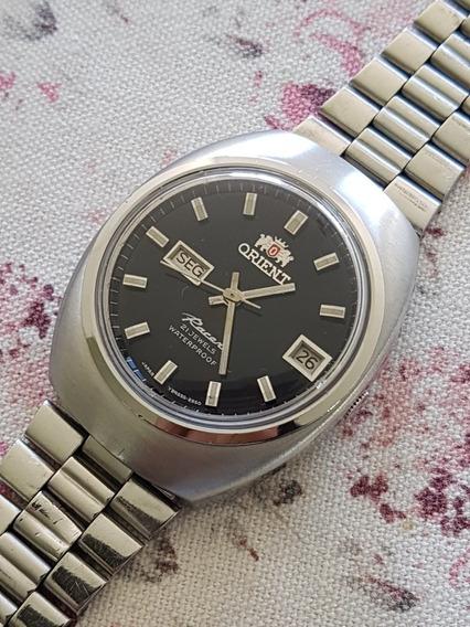 Relógio Orient Racer 21j 2 Janelas 1942 Yy #857